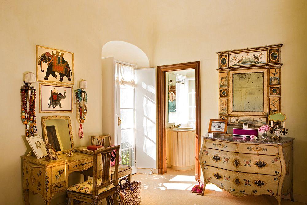 adelaparvu.com despre casa cu interior clasic si terasa cu viata de vie in Portofino, casa Italia, Foto Adriano Bacchella (17)