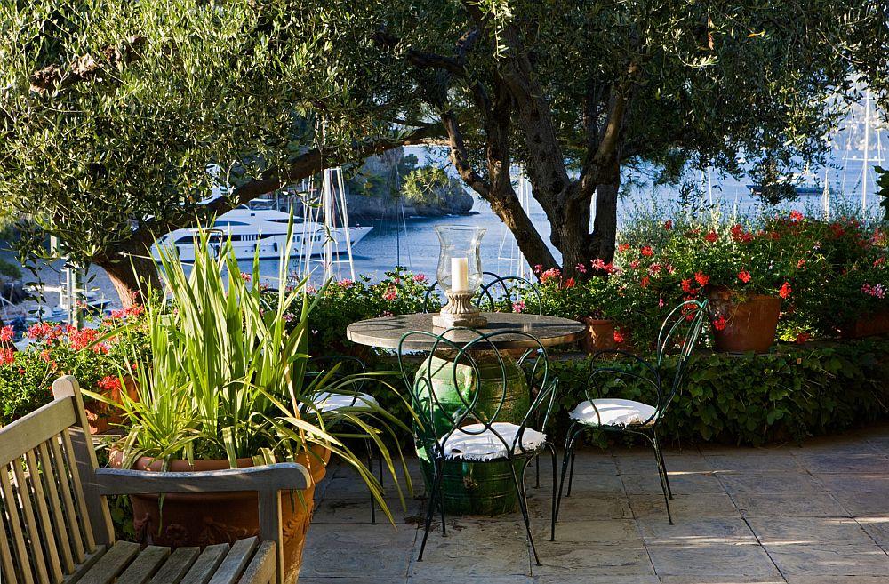 adelaparvu.com despre casa cu interior clasic si terasa cu viata de vie in Portofino, casa Italia, Foto Adriano Bacchella (7)