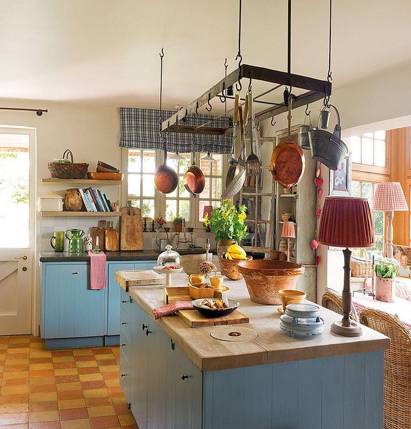 adelaparvu.com despre casa cu terase si interioare rustice in culori naturale, casa Spania, design Ingrid Segers si Annemie Coppens, Porte Bonheur, Foto ElMueble (1)
