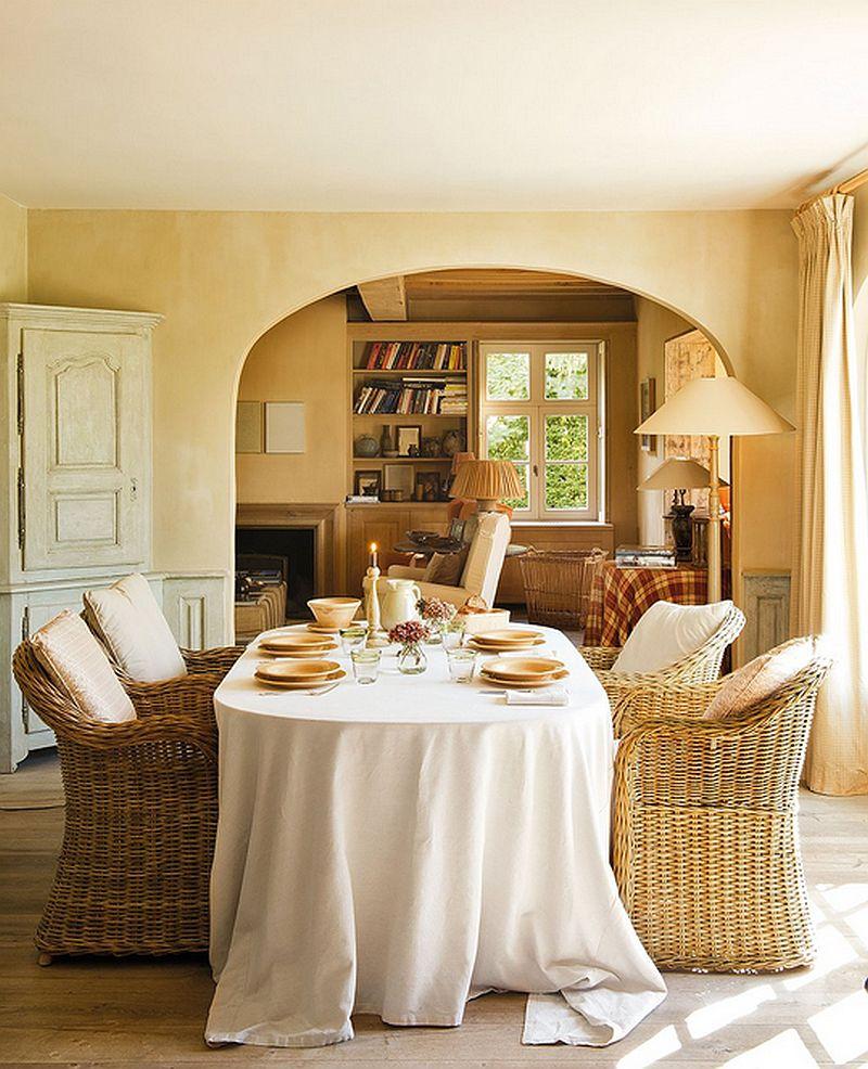 adelaparvu.com despre casa cu terase si interioare rustice in culori naturale, casa Spania, design Ingrid Segers si Annemie Coppens, Porte Bonheur, Foto ElMueble (3)