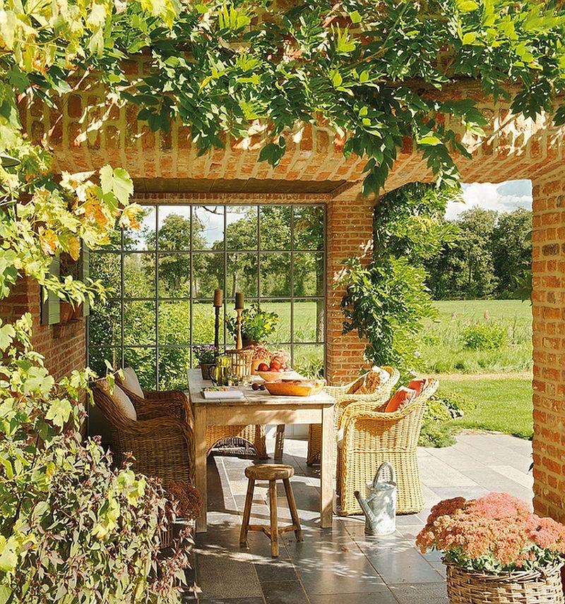 adelaparvu.com despre casa cu terase si interioare rustice in culori naturale, casa Spania, design Ingrid Segers si Annemie Coppens, Porte Bonheur, Foto ElMueble (6)