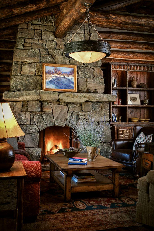 adelaparvu.com despre casa de oaspeti langa cabana din barne de lemn in Montana, design Miller Architects, casa lemn SUA, casa lemn Paradise Valley (5)