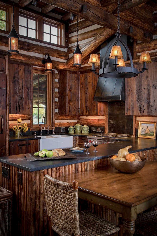 adelaparvu.com despre casa de oaspeti langa cabana din barne de lemn in Montana, design Miller Architects, casa lemn SUA, casa lemn Paradise Valley (6)