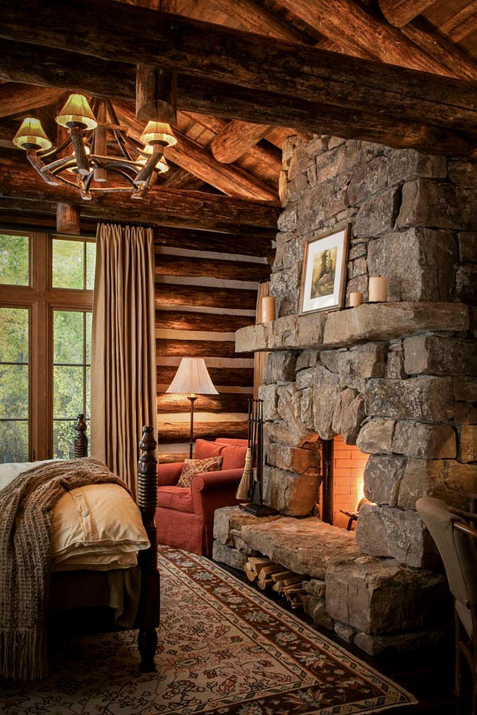 adelaparvu.com despre casa de oaspeti langa cabana din barne de lemn in Montana, design Miller Architects, casa lemn SUA, casa lemn Paradise Valley (7)