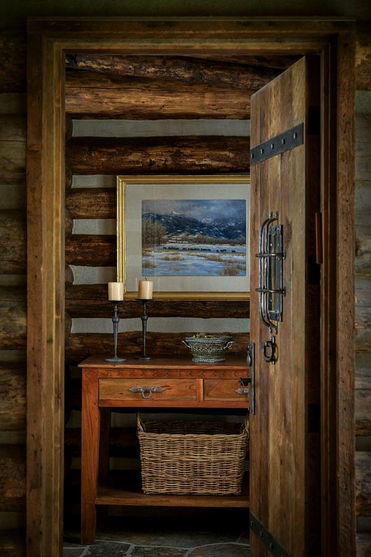 adelaparvu.com despre casa de oaspeti langa cabana din barne de lemn in Montana, design Miller Architects, casa lemn SUA, casa lemn Paradise Valley (8)