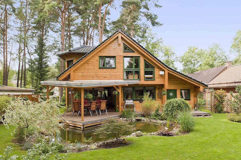adelaparvu.com despre casa din lemn, casa Germania, casa lemn block Fullwood (2)