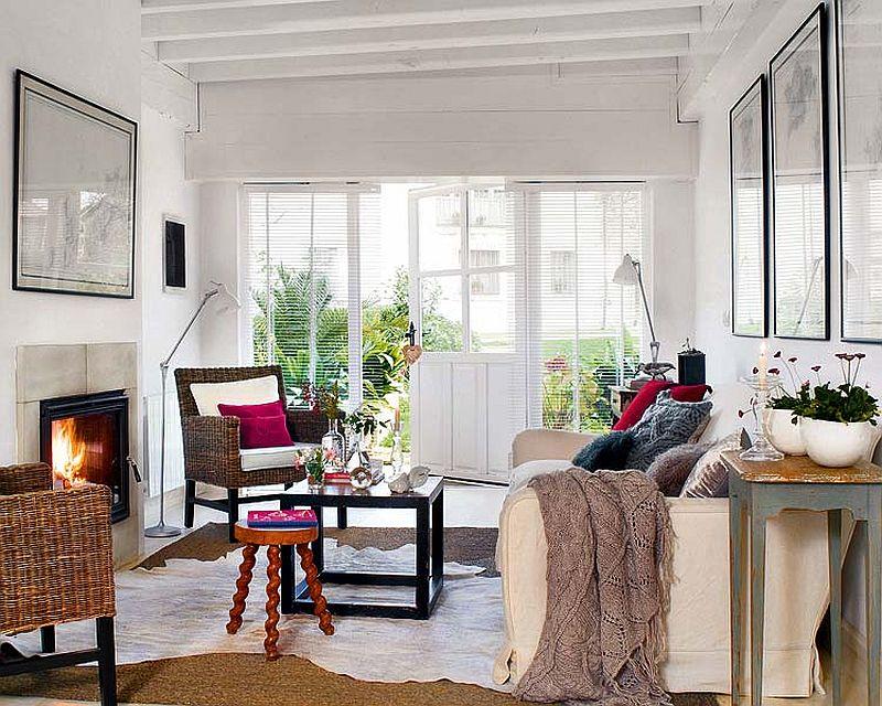 adelaparvu.com despre casa din lemn cu camere lungi si inguste, casa Spania (2)