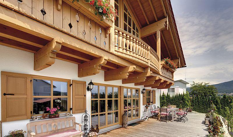adelaparvu.com despre casa din lemn in stil bavarez, design Sonnleitner (2)