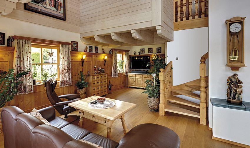 adelaparvu.com despre casa din lemn in stil bavarez, design Sonnleitner (3)