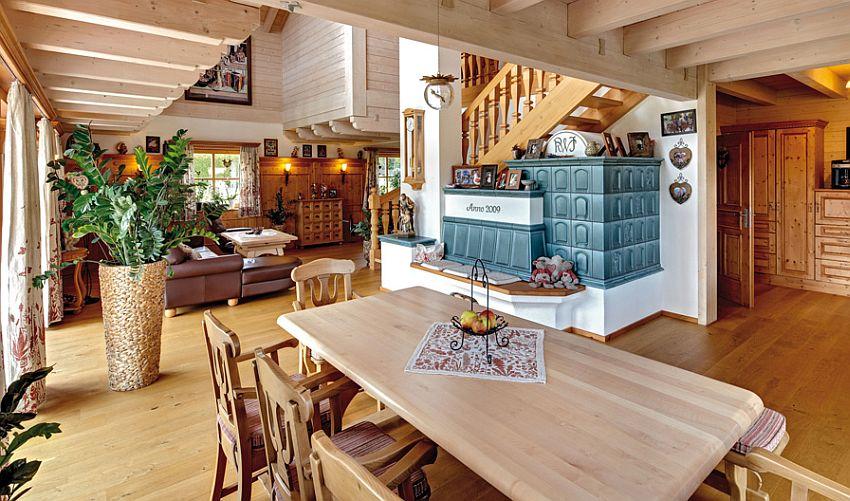 adelaparvu.com despre casa din lemn in stil bavarez, design Sonnleitner (6)