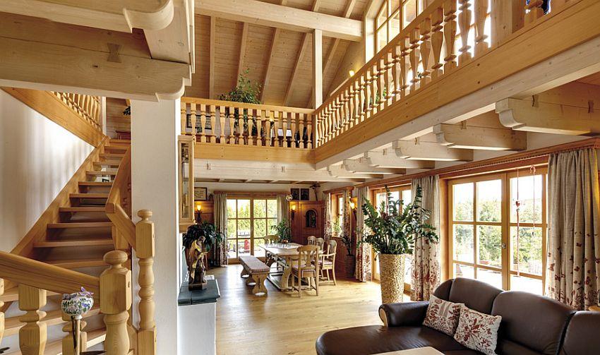 adelaparvu.com despre casa din lemn in stil bavarez, design Sonnleitner (8)