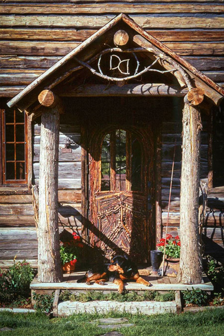 adelaparvu.com despre casa din lemn in stil rustic scandinav, designer Diana Beattie, arhitectura Miller Architects (10)