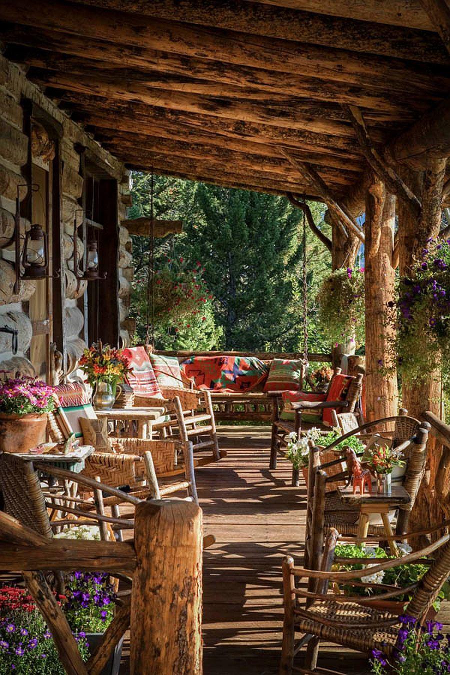 adelaparvu.com despre casa din lemn in stil rustic scandinav, designer Diana Beattie, arhitectura Miller Architects (14)