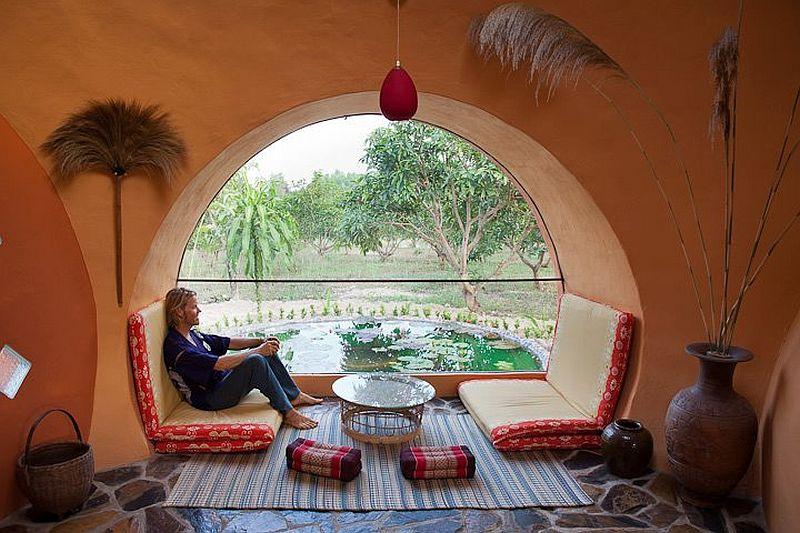 adelaparvu.com despre casa dom de 46 mp, casa in Thailanda, design si foto Steve Areen (25)