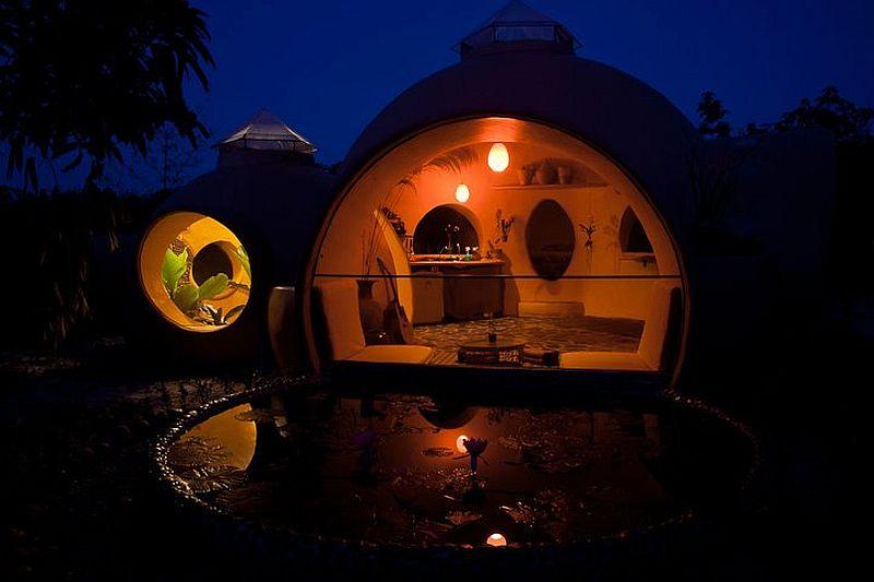 adelaparvu.com despre casa dom de 46 mp, casa in Thailanda, design si foto Steve Areen (33)