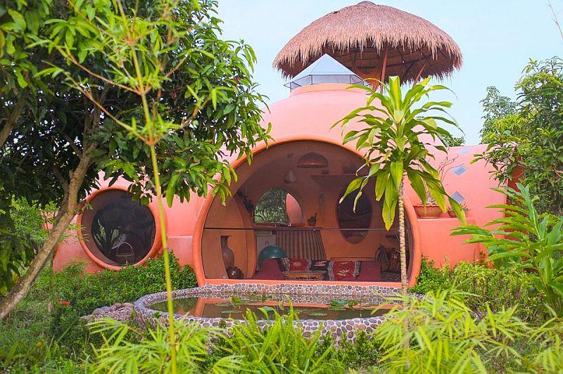 adelaparvu.com despre casa dom de 46 mp, casa in Thailanda, design si foto Steve Areen (7)