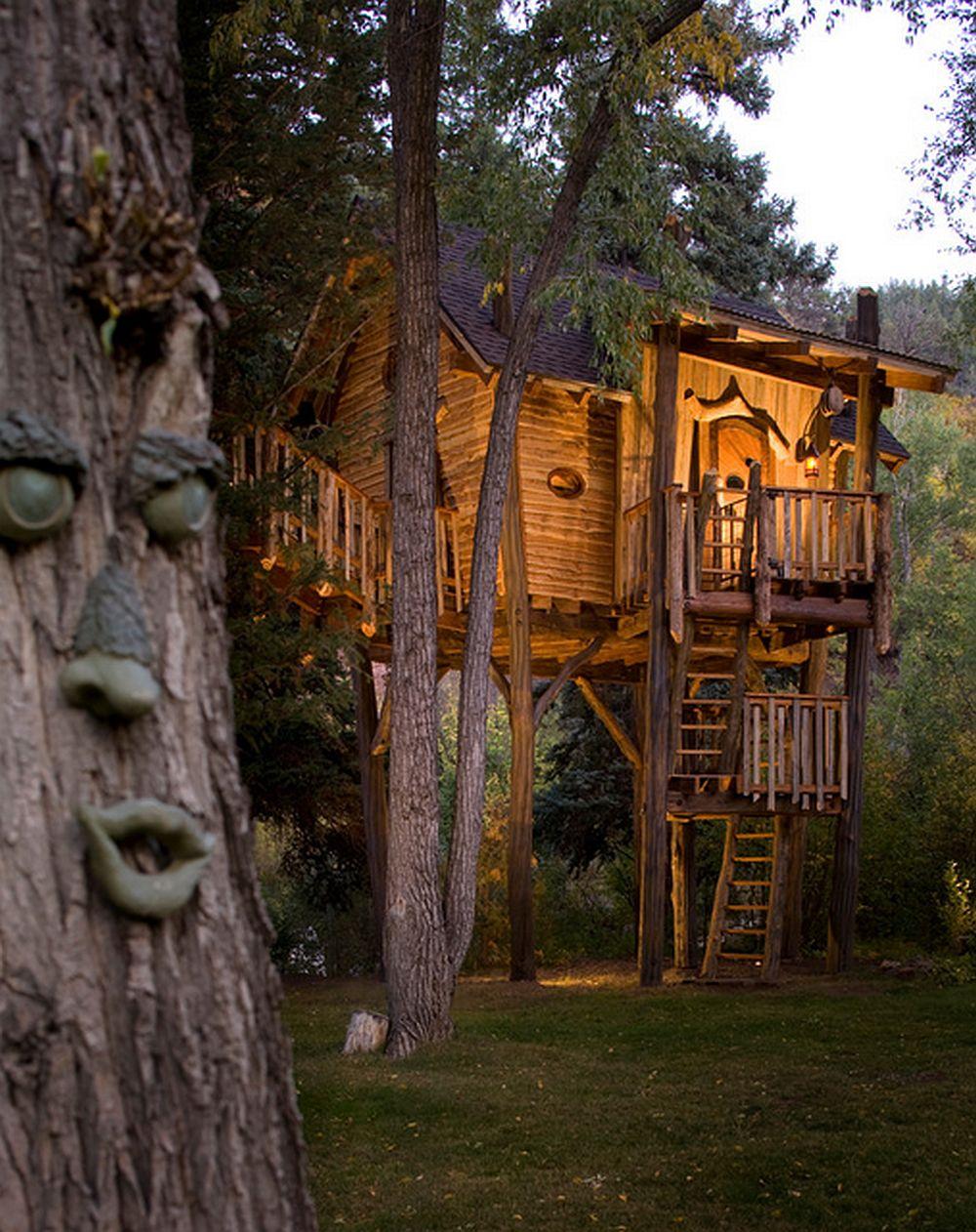 adelaparvu.com despre casa in copac, casa SUA, design David Rasmunssen, Green line Architects, Foto Brent Moss (3)