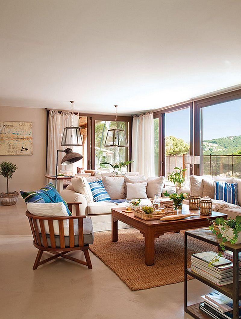 adelaparvu.com despre casa in culorile marii, casa la mare, casa Spania, decor marinarest, costal style, design JeanetteTrensig, Foto ElMueble (2)
