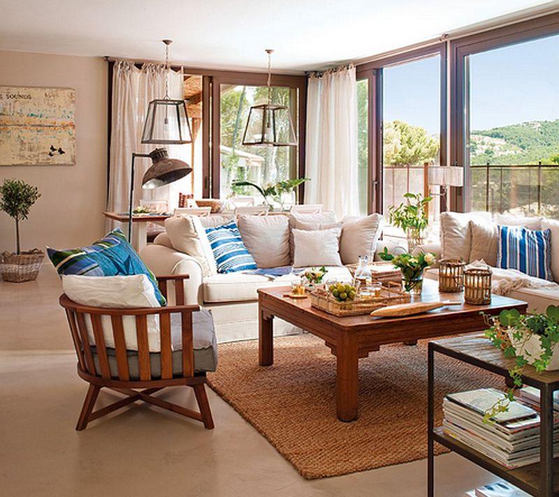adelaparvu.com despre casa in culorile marii, casa la mare, casa Spania, decor marinarest, costal style, design JeanetteTrensig, Foto ElMueble (3)