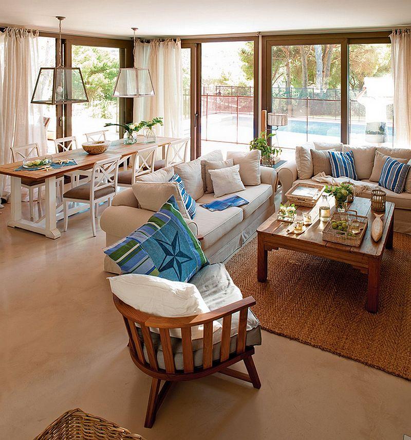 adelaparvu.com despre casa in culorile marii, casa la mare, casa Spania, decor marinarest, costal style, design JeanetteTrensig, Foto ElMueble (5)
