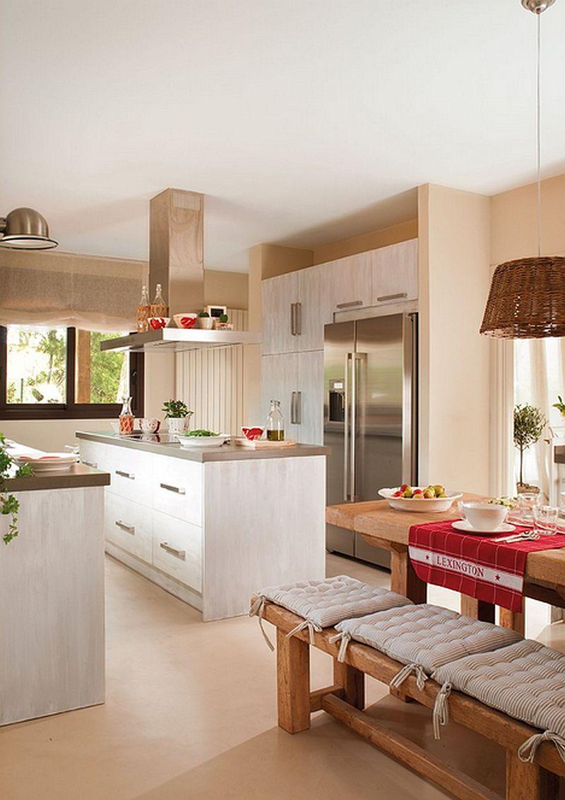 adelaparvu.com despre casa in culorile marii, casa la mare, casa Spania, decor marinarest, costal style, design JeanetteTrensig, Foto ElMueble (8)