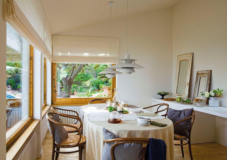 adelaparvu.com despre casa in stil colonial, casa Spania, casa de vacanta Costa Brava, Foto ElMueble (13)
