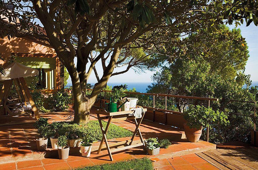 adelaparvu.com despre casa in stil colonial, casa Spania, casa de vacanta Costa Brava, Foto ElMueble (3)
