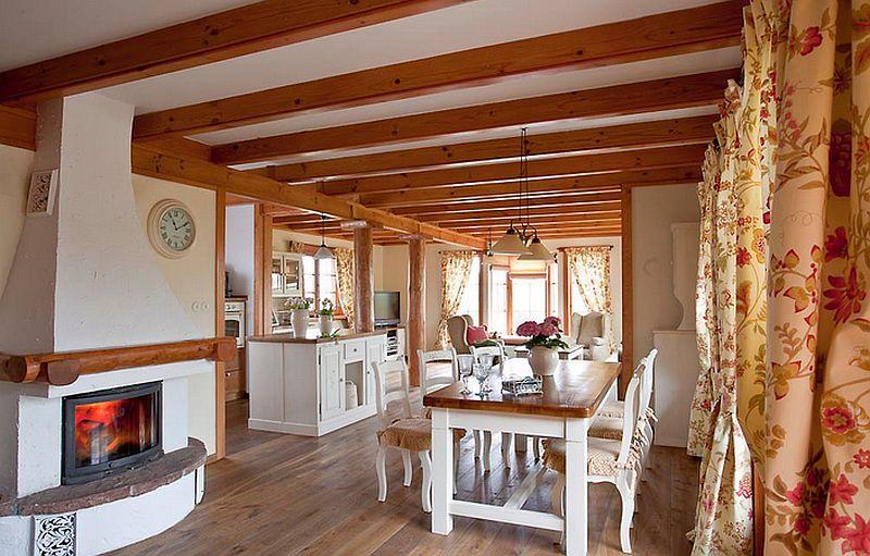 adelaparvu.com despre casa rustica cu interior in stil povensal, casa Polonia, Foto Piotr Gesicki (11)