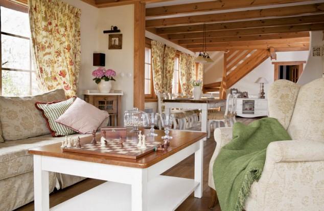 adelaparvu.com despre casa rustica cu interior in stil povensal, casa Polonia, Foto Piotr Gesicki (5)