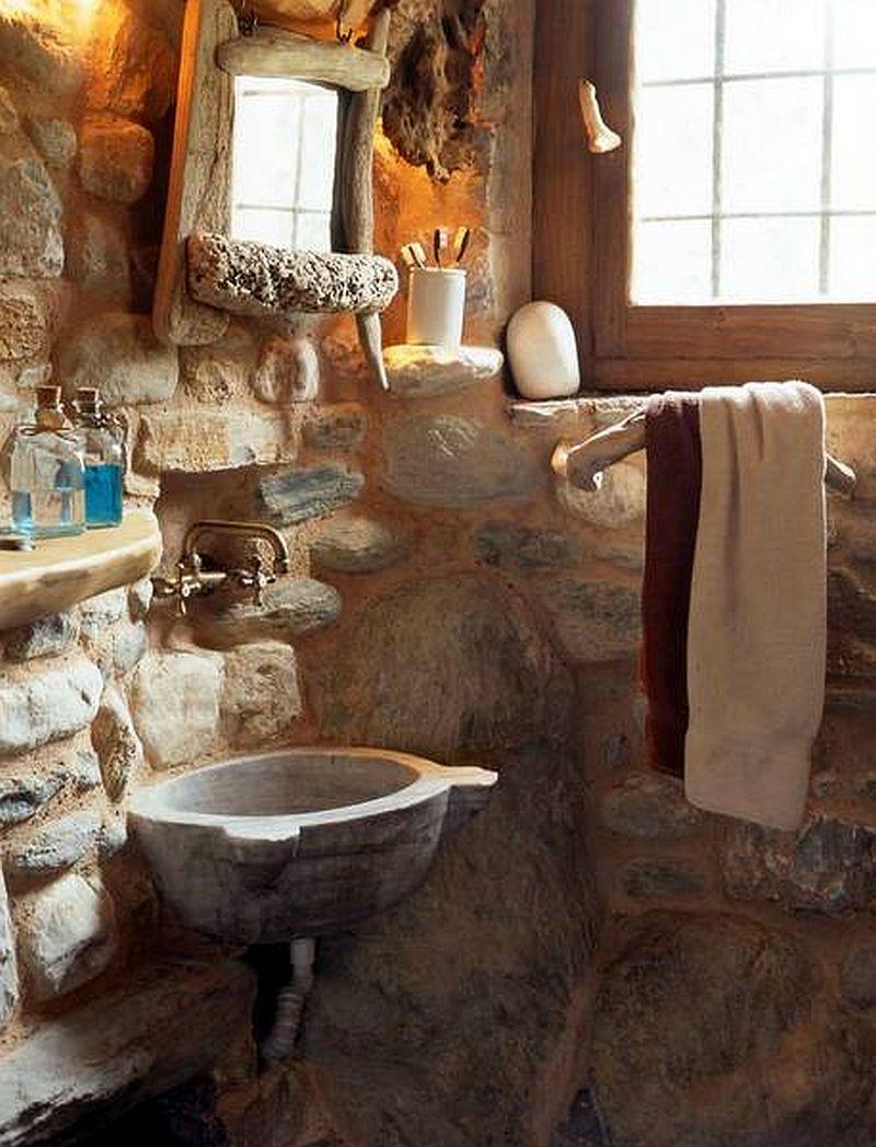 adelaparvu.com despre casa rustica din piatra, casa Grecia, casa de vacanta rustica, design Philippitzis & Associates (11)