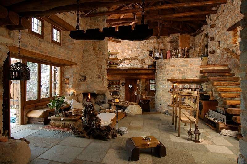 adelaparvu.com despre casa rustica din piatra, casa Grecia, casa de vacanta rustica, design Philippitzis & Associates (5)