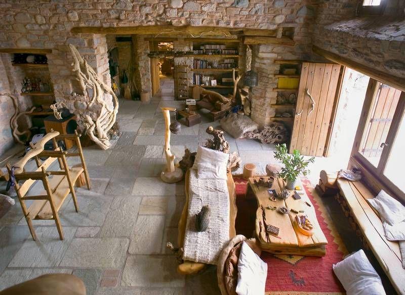 adelaparvu.com despre casa rustica din piatra, casa Grecia, casa de vacanta rustica, design Philippitzis & Associates (6)