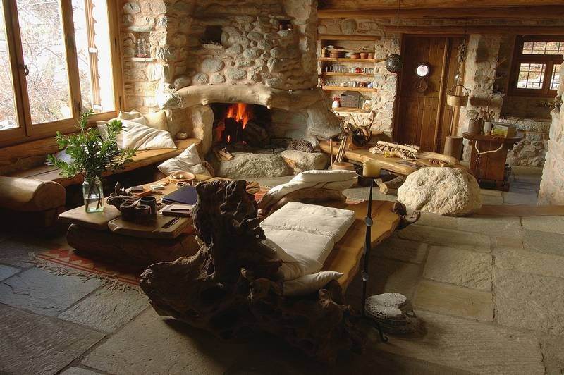 adelaparvu.com despre casa rustica din piatra, casa Grecia, casa de vacanta rustica, design Philippitzis & Associates (7)