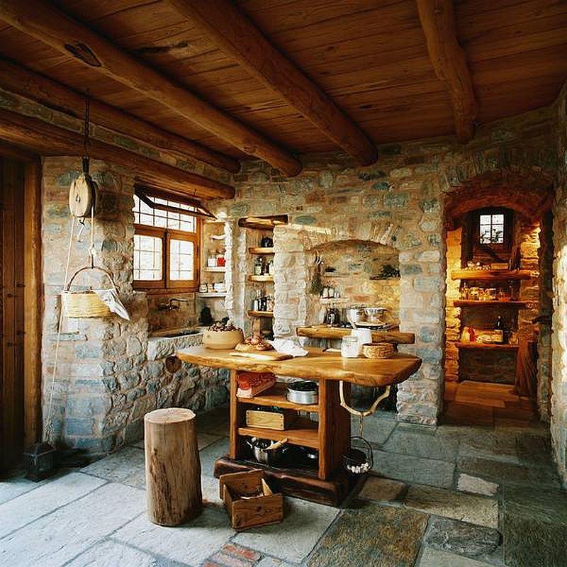 adelaparvu.com despre casa rustica din piatra, casa Grecia, casa de vacanta rustica, design Philippitzis & Associates (8)