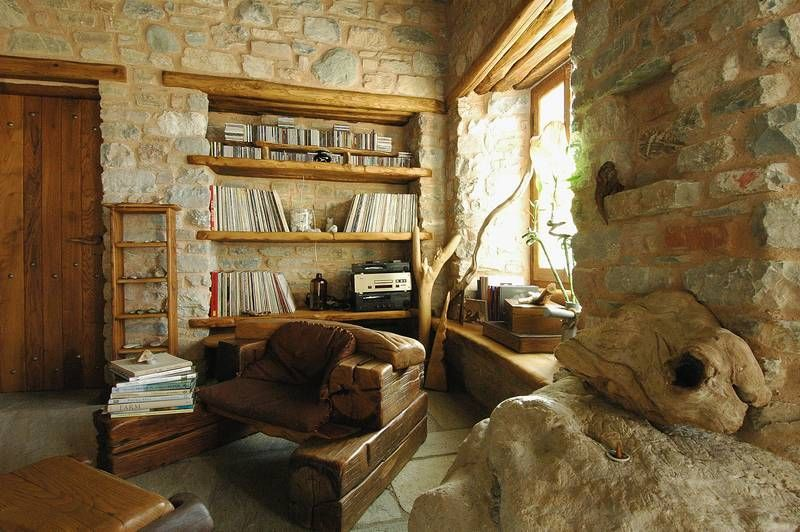 adelaparvu.com despre casa rustica din piatra, casa Grecia, casa de vacanta rustica, design Philippitzis & Associates (9)
