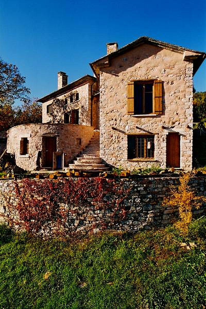 adelaparvu.com despre casa rustica din piatra, casa Grecia, casa de vacanta rustica, design Philippitzis & Associates