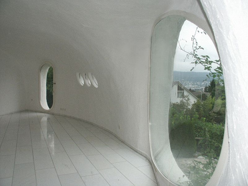 adelaparvu.com despre case organice sub pamant, casa Buehler, arhitect Peter Vetsch (1)