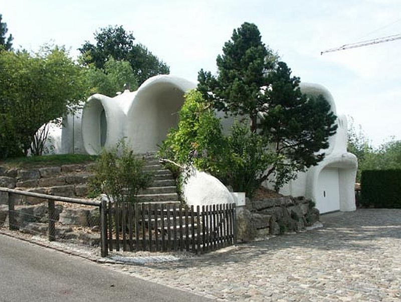 adelaparvu.com despre case organice sub pamant, casa Buehler, arhitect Peter Vetsch (5)