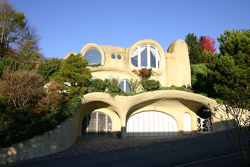 adelaparvu.com despre case organice sub pamant, casa Dolder, arhitect Peter Vetsch (1)