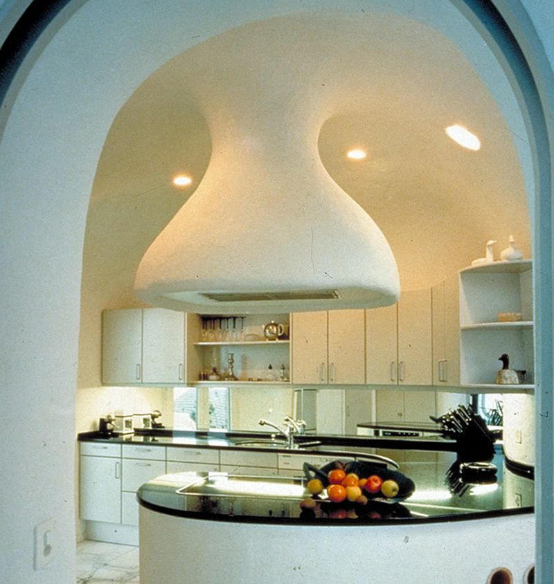 adelaparvu.com despre case organice sub pamant, casa Dolder, arhitect Peter Vetsch (2)