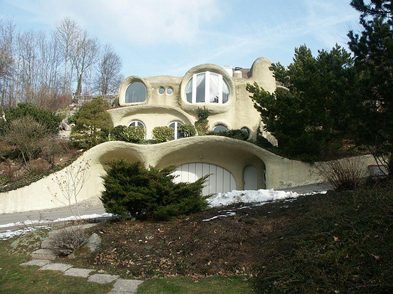 adelaparvu.com despre case organice sub pamant, casa Dolder, arhitect Peter Vetsch (3)
