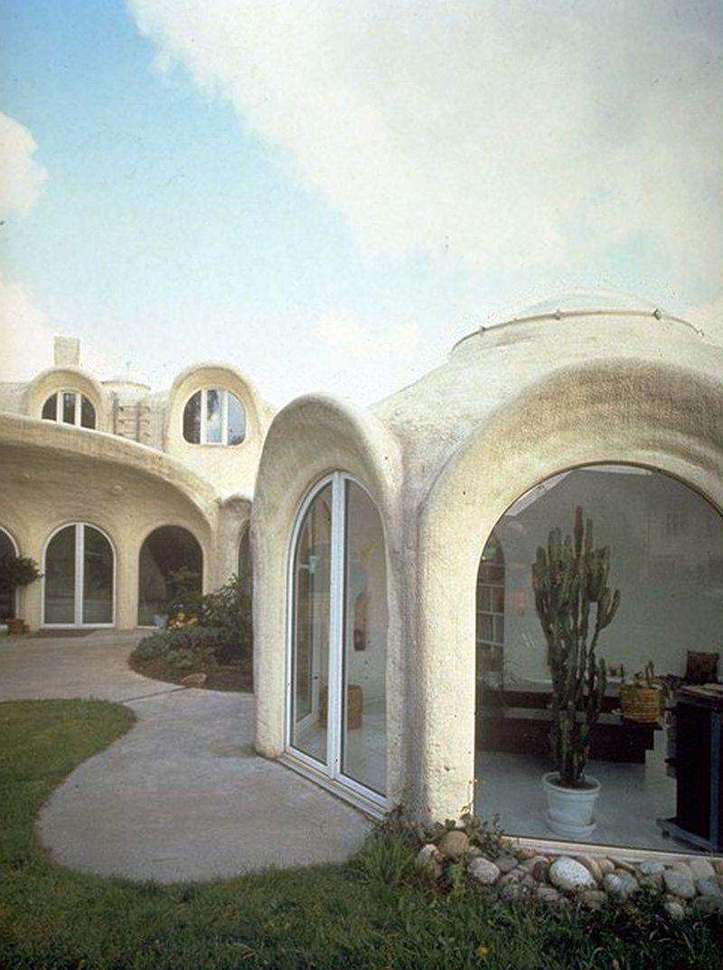 adelaparvu.com despre case organice sub pamant, casa Dubler, arhitect Peter Vetsch (1)