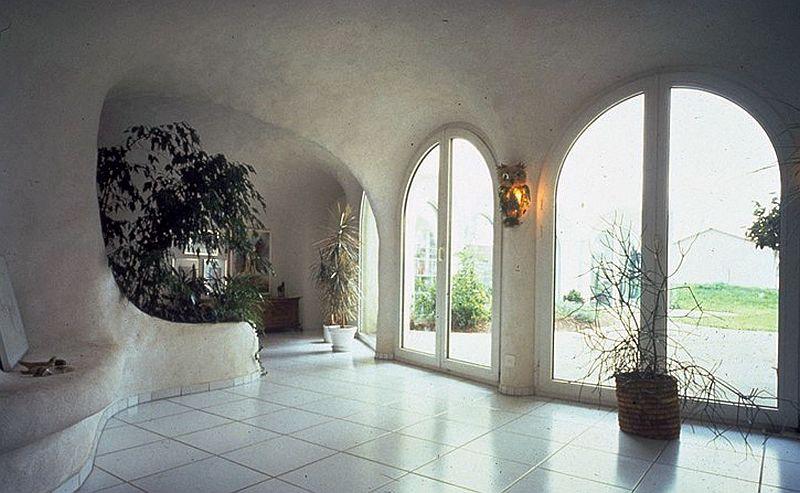 adelaparvu.com despre case organice sub pamant, casa Dubler, arhitect Peter Vetsch (2)