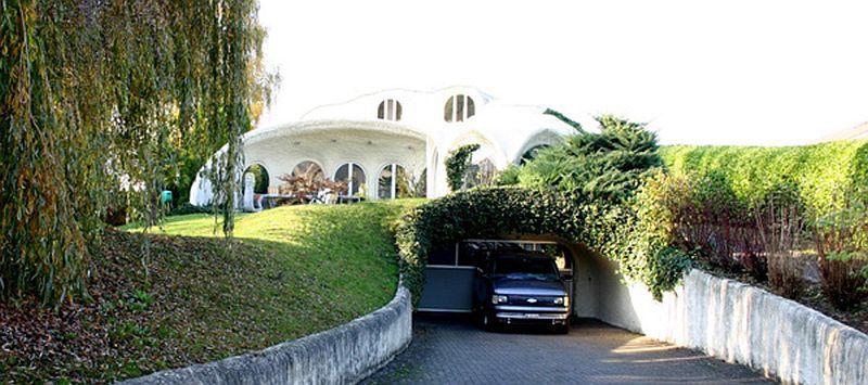 adelaparvu.com despre case organice sub pamant, casa Dubler, arhitect Peter Vetsch (3)