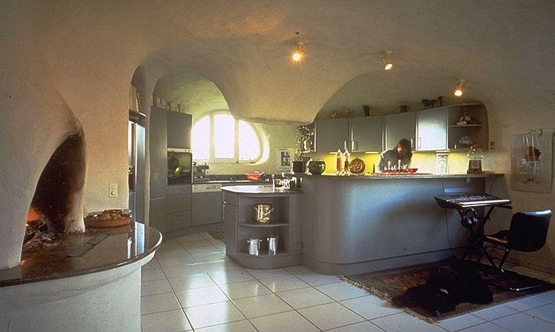 adelaparvu.com despre case organice sub pamant, casa Dubler, arhitect Peter Vetsch (4)