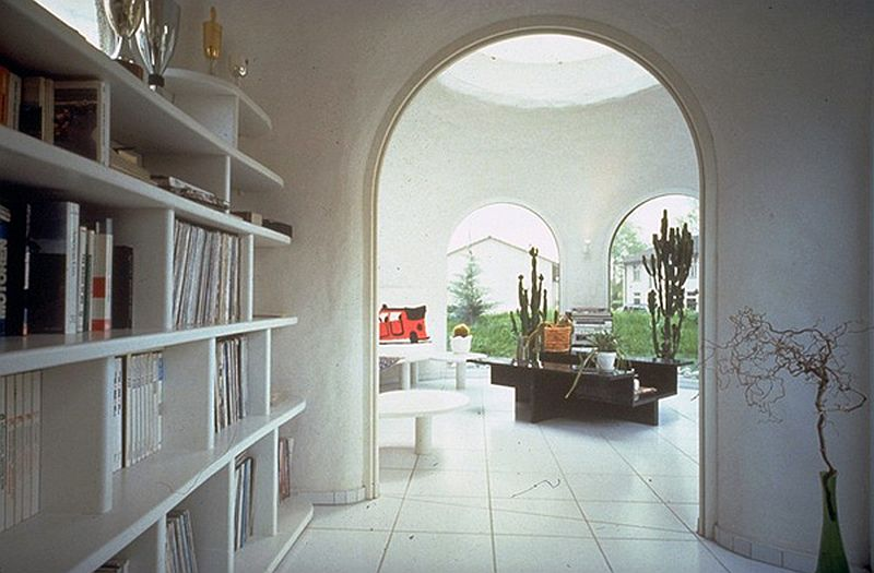 adelaparvu.com despre case organice sub pamant, casa Dubler, arhitect Peter Vetsch (5)