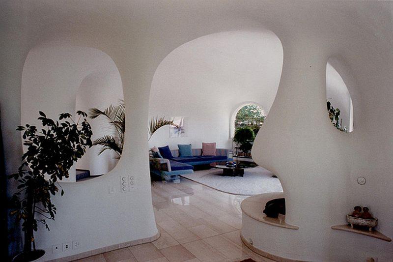 adelaparvu.com despre case organice sub pamant, casa Hotz, arhitect Peter Vetsch (1)