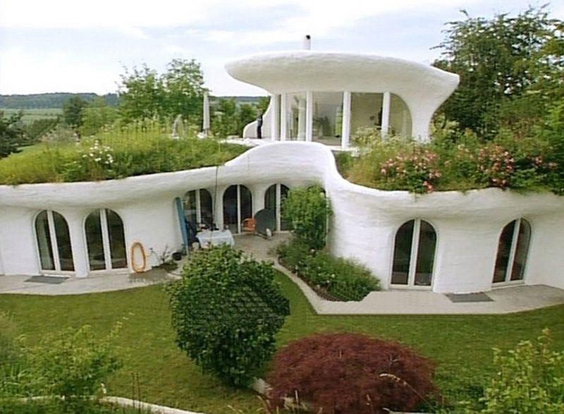 adelaparvu.com despre case organice sub pamant, casa Leuzinger, arhitect Peter Vetsch (5)