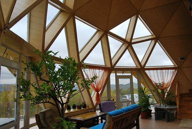 adelaparvu.com despre case tip domuri geodezice, casa dom geodezic, design ing. Alexandru Dinulescu (1)