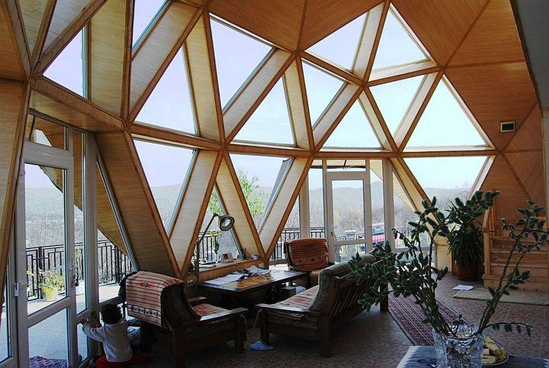 adelaparvu.com despre case tip domuri geodezice, casa dom geodezic, design ing. Alexandru Dinulescu (2)
